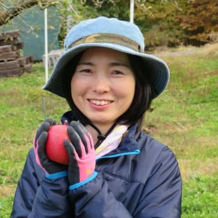 一作農園を切り盛りする若女将の原沢智子(はらさわさとこ)さん